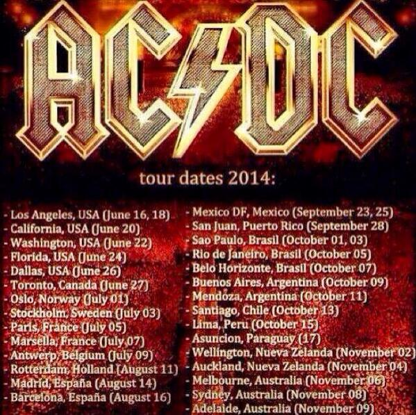 AC/DC reschedules North American tour dates | KSHE 95