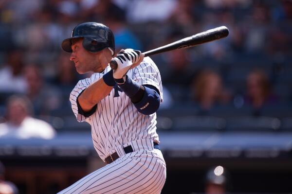 Followers to RETWEET can win a Derek Jeter bat. #MLBFC http://t.co/XtOGULtKnP