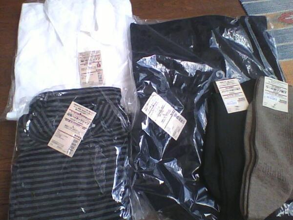 無印良品の福袋(紳士 L)の中身は、ベスト(¥2980)洗いざらしシャツ(¥1980)超毛ハイネックシャツ(¥1550)靴下2つ(各735)  去年に比べ酷くなってますね(>_<) ...