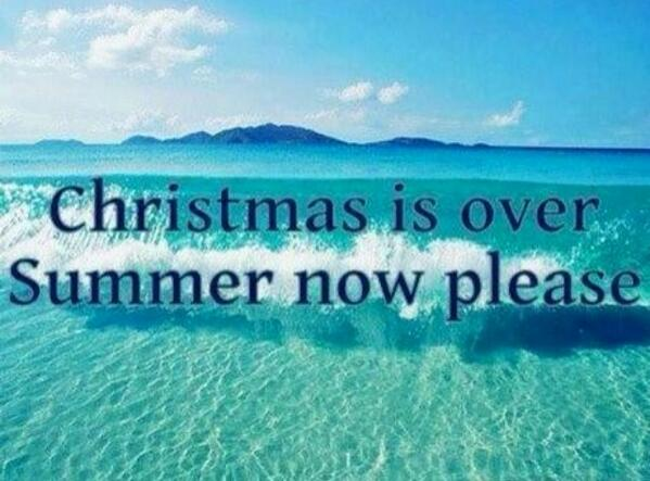 Christmas Is Over.Josephine Son On Twitter Christmas Is Over Summer Now