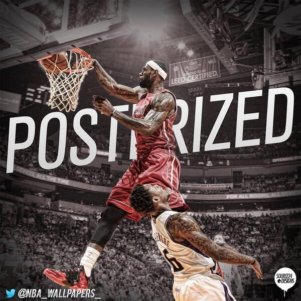 Miami Heat España On Twitter Wallpaper Lebron James Dunk