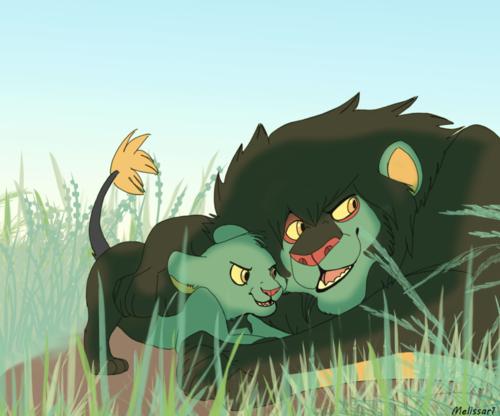 La influencia del rey león en el mundo pokemón BcB73QZCUAAVetW