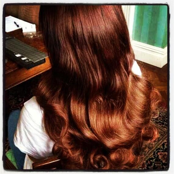 Beauty Works On Twitter Ombre Of The Day Shiny Brunette To Copper