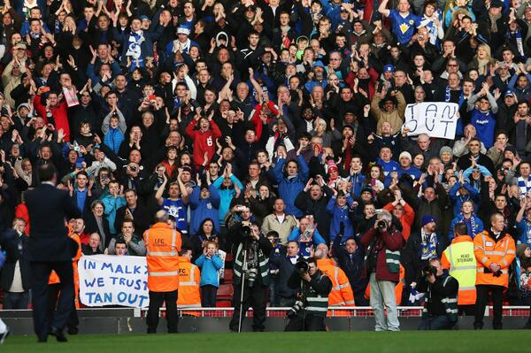 Amazing Cardiff song protest after Liverpool defeat: Dont sack Mackay... Youre gonna have a riot on your hands