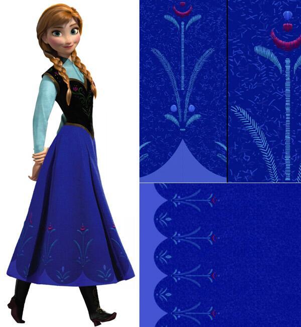 Frozen Anna Blue Dress | www.pixshark.com - Images ...