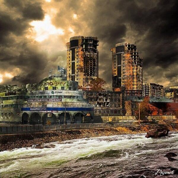 Москва после конца света картинки