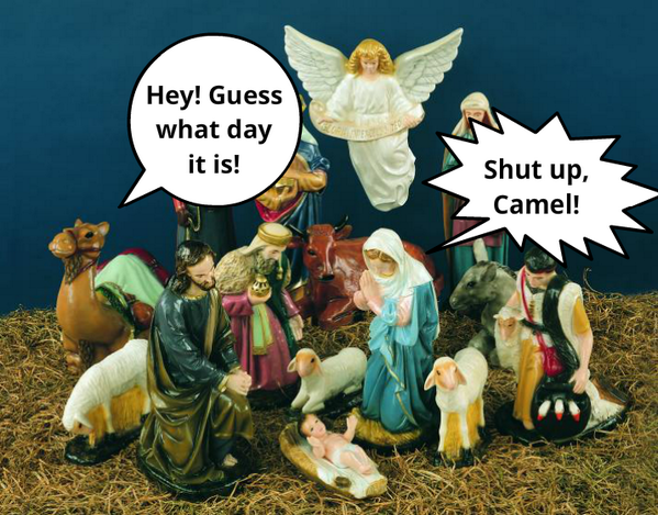 catholicmemes because christmas is on a hump day i mean wednesday this year pictwittercomzpemcszpkk this is great - What Day Is Christmas This Year
