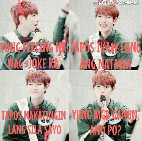 Tagalog Exo Memes Tagalogexomemes Twitter