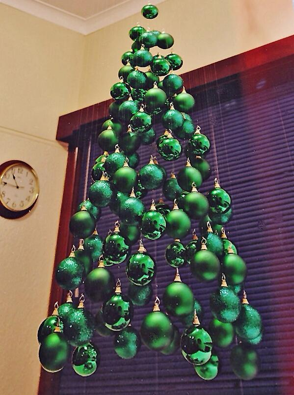 tweetsmarter on twitter very cool how to make a floating christmas tree httptco7unkzrqkhl httptcovgzvpaqc27