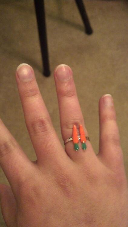 milk on 2 carrot ring http t co ppyvmfjy9b