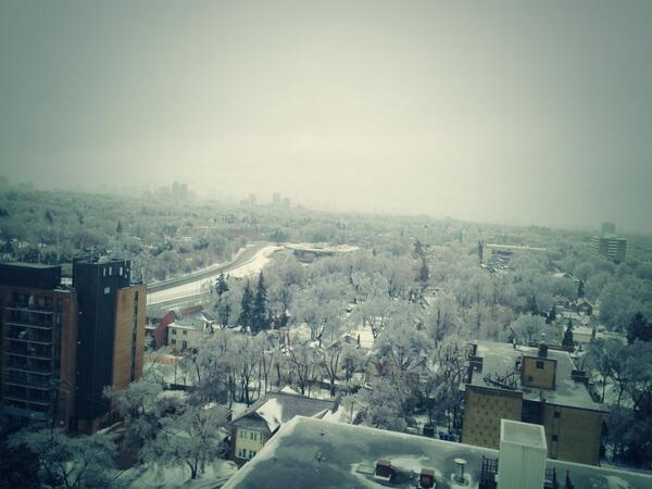 Toronto was hit by #icestorm2013. DT view. Many people without power, including myself... Merry Christmas:) #toronto http://t.co/cXSORAuPHU
