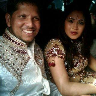 Ramnarace sarwan wedding dresses