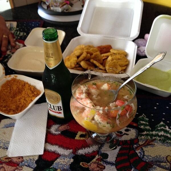 Ricardo Casal On Twitter Ceviche Cerveza Patacones Salsa De Queso Guacamole Sal Prieta Ceviche Mixto Http T Co 0i0whnl6jn