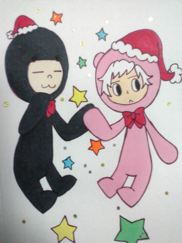 【電波人間のクリスマス:32】ルナシラさんのイラスト