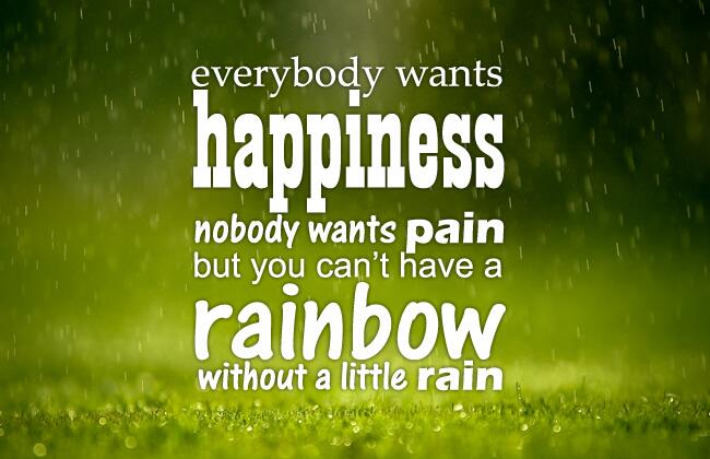 nobody can be happy without others What makes people in mid and later life happy or gives happiness and self-esteem: can one exist without the other happiness and self-esteem - can exist.
