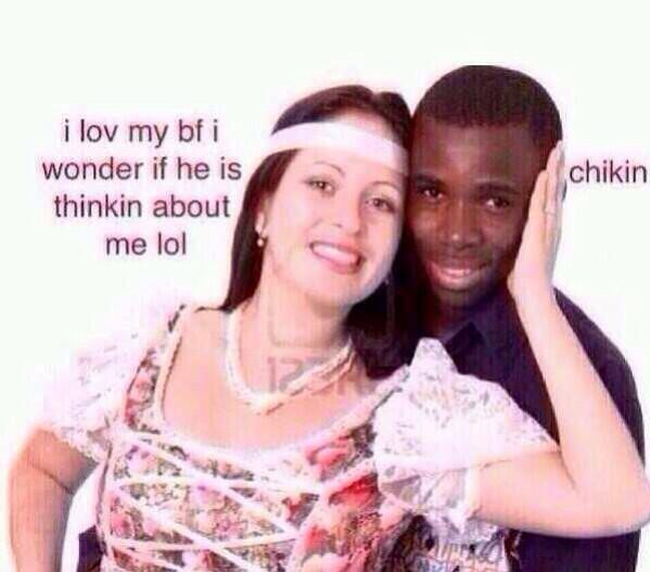 my mother is dating a black guy