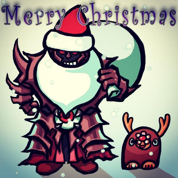 【電波人間のクリスマス:40】オビ―のイラスト