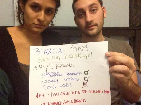 Bianca and Yotam tell @amysbread to dialogue with workers now! #WhoMakesAmysBread http://t.co/r70HEW877W