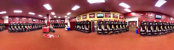 One last look at the #49ers locker room. #FarewellCandlestick http://t.co/J5Jokxvbsr
