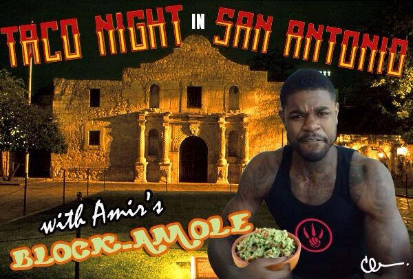Amir about to bring the BLOCKamole to this party! #RTZ #Raptors http://t.co/4iEJCv4bMk