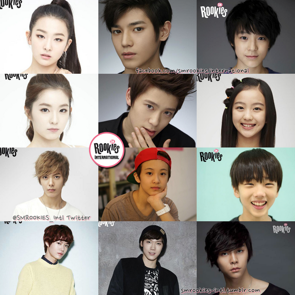 """SMROOKIES Intl On Twitter: """"SM Has Introduced 12 Rookies"""
