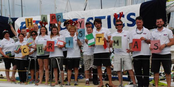 Merry Christmas from all at PSP and all on board #PSPLogistics and don't forget to cheer us on in @rshyr @ClipperRace http://t.co/pXGrEFzLzx