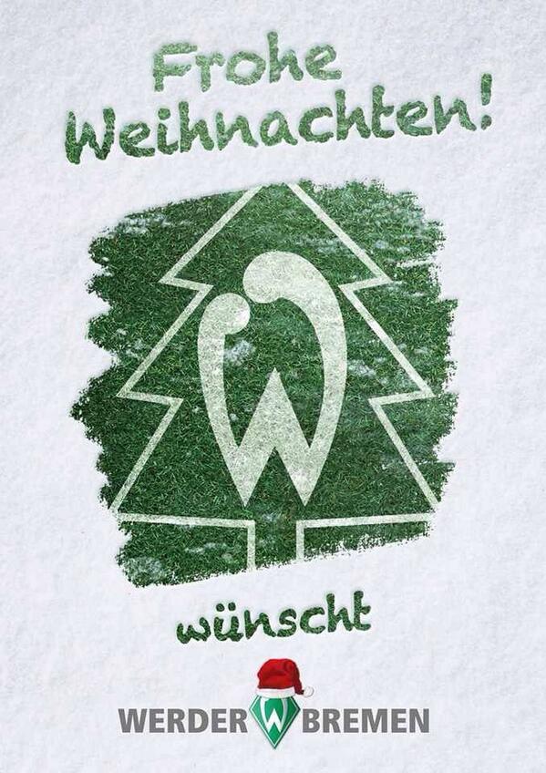 Frohe Weihnachten Werder Bremen.Sv Werder Bremen On Twitter Frohe Weihnachten Http T
