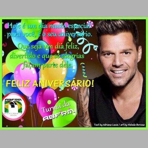Cumpleanos Feliz Ricky Martin.Ricky Martin On Twitter Happy Birthday To Me