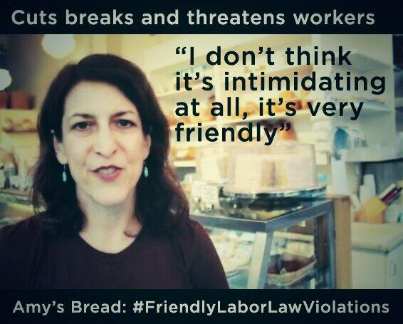 """I don't think it's intimidating at all"" @amysbread #FriendlyLaborLawViolations #WhoMakesAmysBread #IWW http://t.co/ijpfJq5bG7"