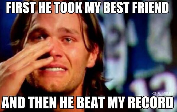 Nfl Memes On Twitter Quot Tom Brady Thoughts On Peyton