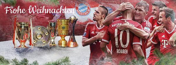 Der #FCBayern wünscht allen Fans frohe #Weihnachten und ein besinnliches Fest! #FCBxmas #MiaSanMia