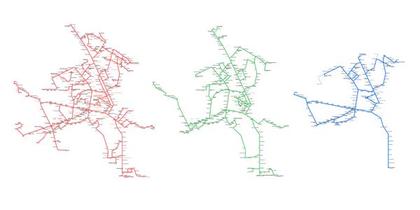 схемы транспорта Гомеля: