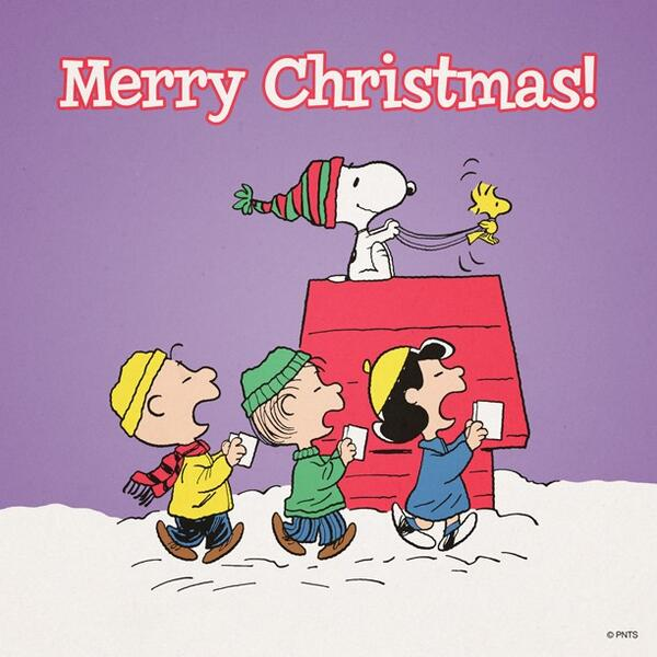 Snoopy Merry Christmas Images.Peanuts On Twitter Merry Christmas Http T Co Btajm8baqm