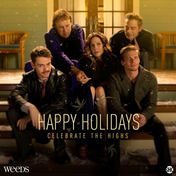 Happy Holidaze from the Botwins! #Weeds http://t.co/qQvfw44rc4