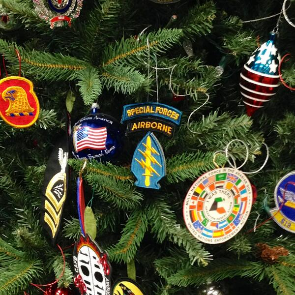 Merry Christmas! Stop by the @Delta Military Lounge in the B concourse of the Worldport and look for our patches.