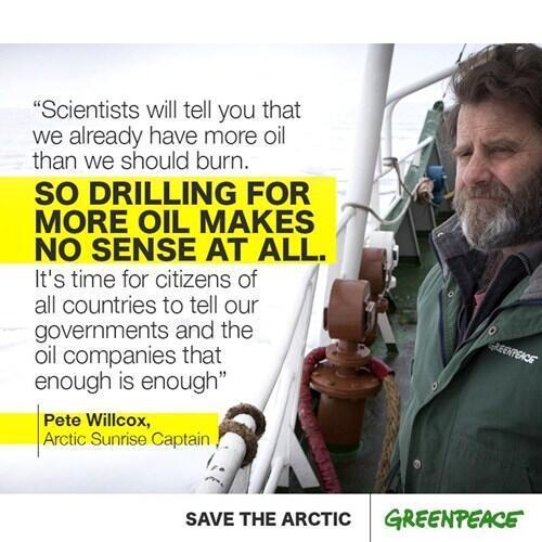 Twitter / GreenpeaceAustP: