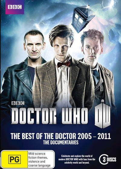 Doctor Who: The Best Of The Doctor 2005 - 2011 The Documentaries DVD cover