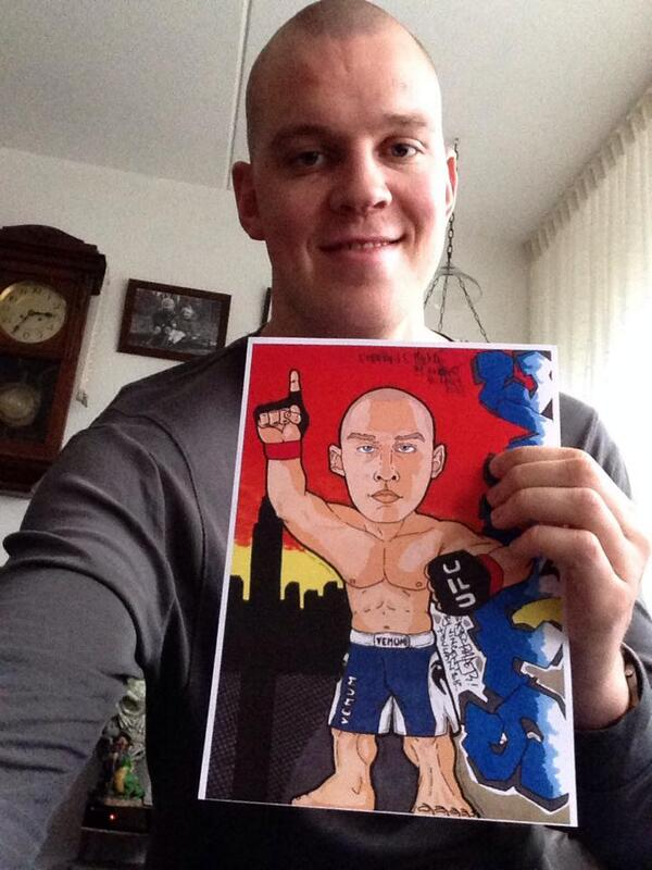 My drawing for @StefanStruve  Thx you my friend, by @Vincenthury