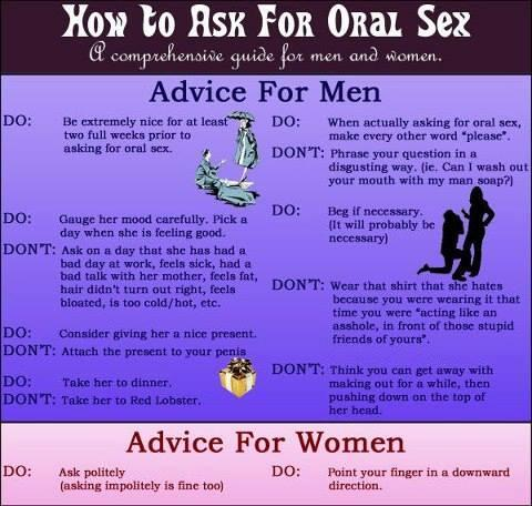 Oral sex tips for beginners
