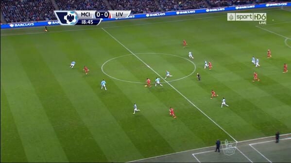 Miles onside! Liverpools Raheem Sterling had a perfectly good goal disallowed at Man City