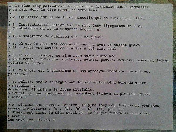 Le meilleur cours de français du monde ! http://t.co/FtwQ15Nde7 (via @OlipeMan)