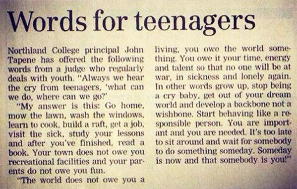 being a teenager one of the hardest periods in ones life