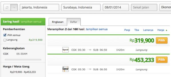 Wego Indonesia A Twitter Tiket Pesawat Jakarta Surabaya
