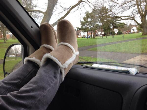 Liam feet up