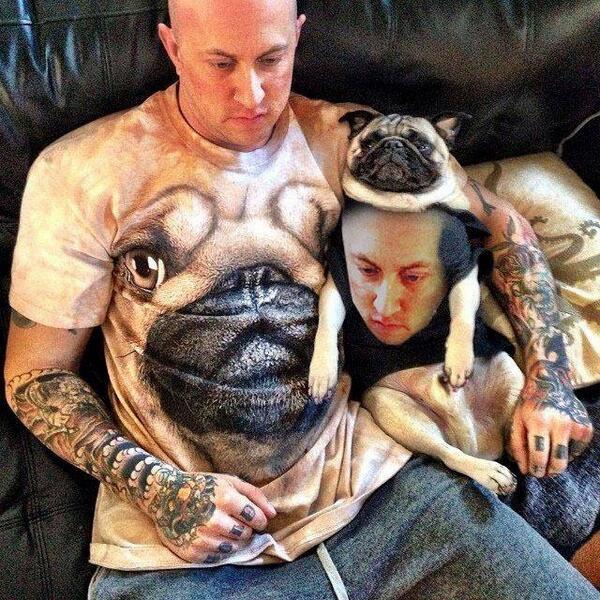 Hondeneigenaren gaan altijd een beetje op hun hond lijken. En andersom. http://t.co/avqZm3wwML