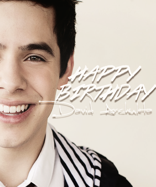 @DavidArchie Happy Birthday David Archuleta. We love youuuu <3 http://t.co/jgu3VPTDHj