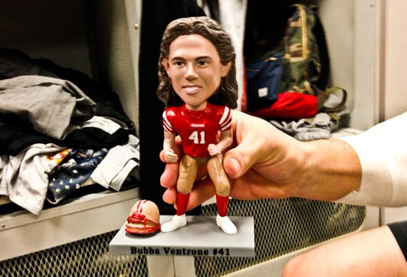 San Francisco 49ers On Twitter Meet Bubba Ventrone S Bobblehead
