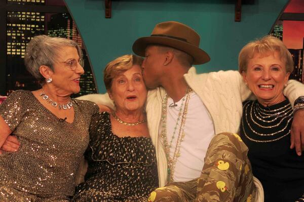 3 golden sisters on twitter somebody love us pharrell yolo http