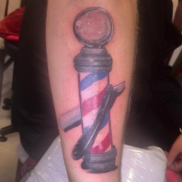 Barber Pole Tattoo : Quay Cuts Barbers on Twitter: