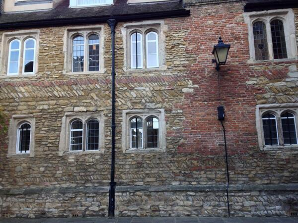 Intereting brickwork in Cambridge